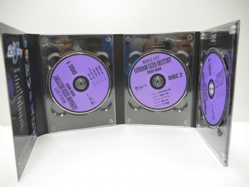 DVD-BOXの機動戦士ガンダムSEED DESTINY