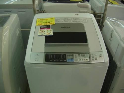 激安家電のドラム洗濯機