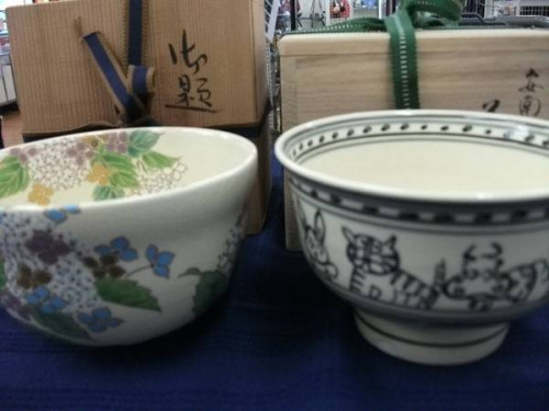 陶器の和食器