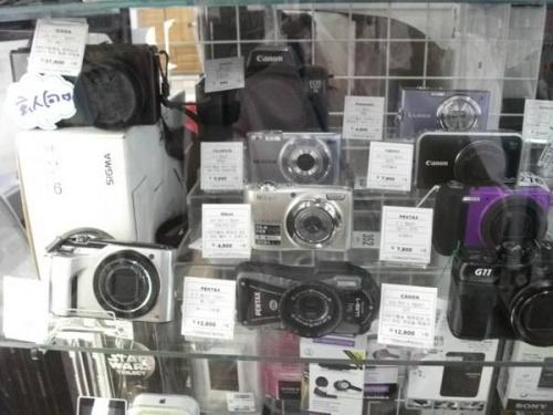 コンパクトデジカメのカメラ