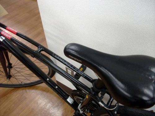 アウトドアのロードバイク