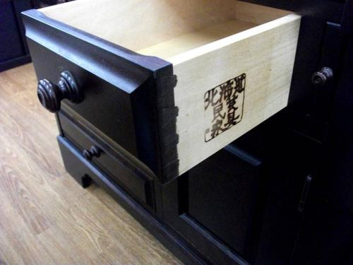 北海道民芸のアンティーク家具
