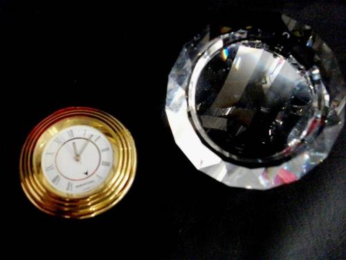 置き時計の置物