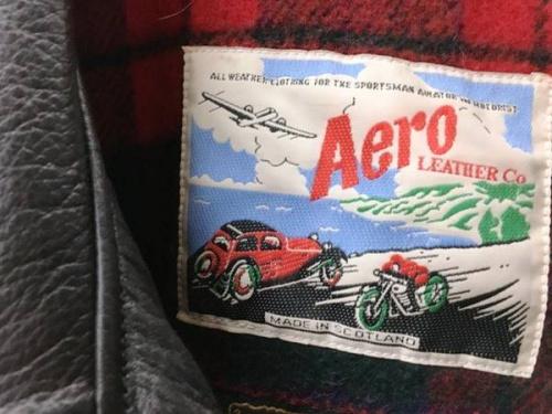 ジャケットのAero LEATHER