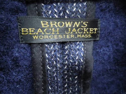 ピーコートのBROWN'S BEACH