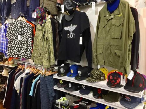 川越店衣類のメンズファッション