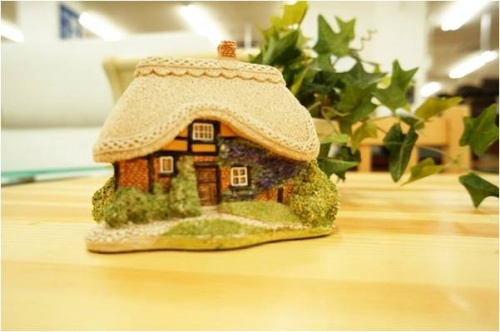 置物のLilliput Lane