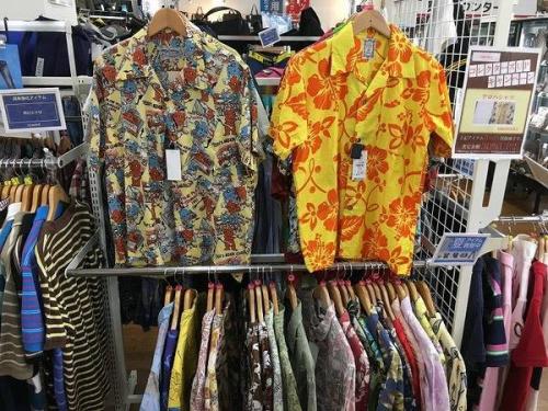 アロハシャツの川越店衣類