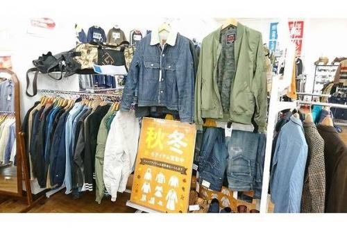 川越店衣類のアメカジ