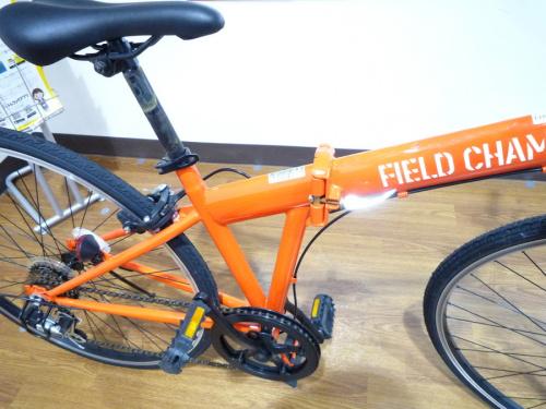 折りたたみクロスバイクのFIELD CHAMP