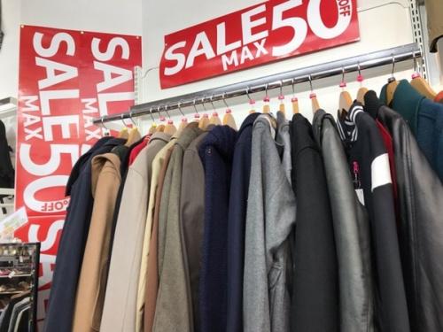 メンズファッションの衣類川越店