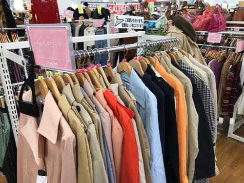 川越店衣類の春物