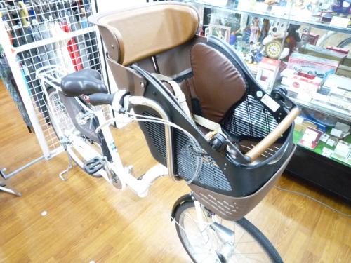 自転車の子供乗せ自転車