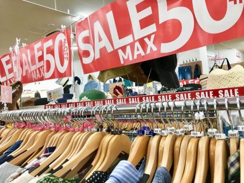 メンズファッションの古着セール