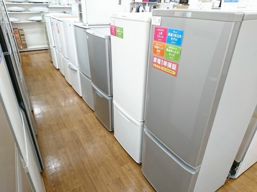 2ドア冷蔵庫の家電 川越
