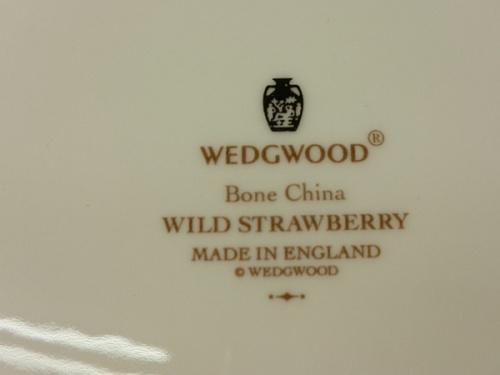 洋食器のウェッジウッド