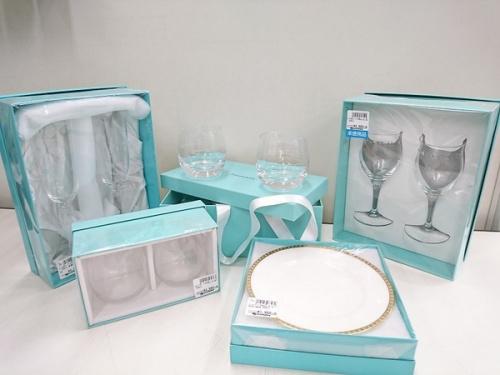 Tiffany グラスの贈答品 川越