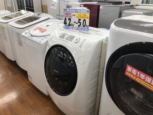 洗濯乾燥機のドラム式洗濯機