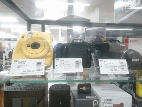 一眼レフのカメラ