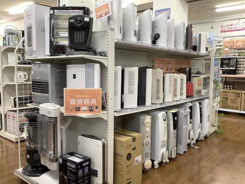 暖房器具の冬物家電