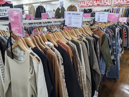 春物衣類の衣類買取