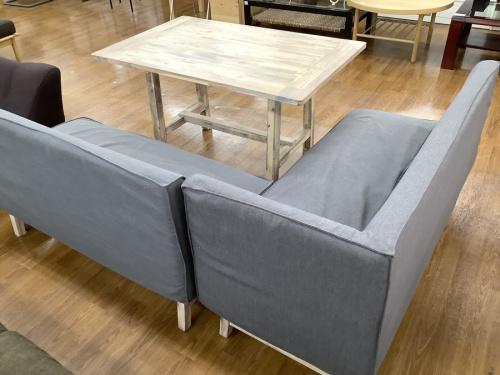 テーブルのソファダイニング3点セット