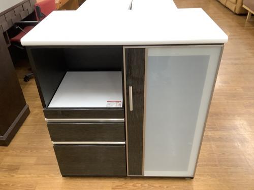 キッチン収納のキッチンカウンター