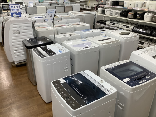 全自動洗濯機のTOSHIBA