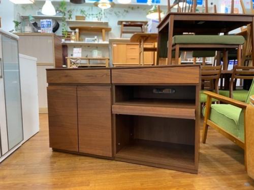 サイドボード 2枚扉 引き出し付の家具  中古家具 家具買取 リサイクルショップ