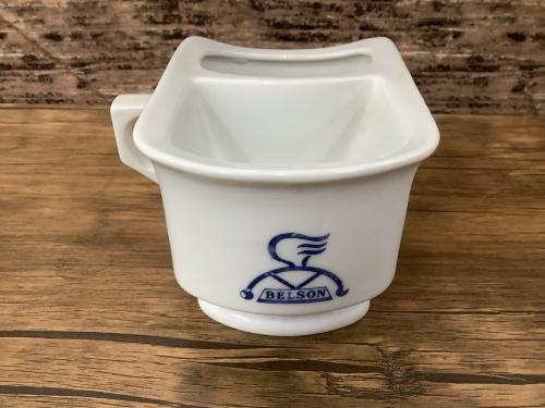インテリア小物のヴィンテージシェービングカップ