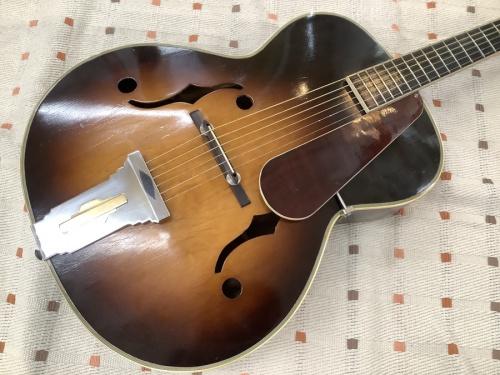 フルアコースティックギターのNardan guitar ナルダンギター