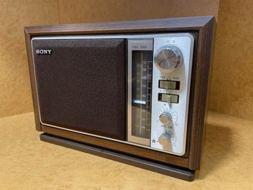 オーディオ ラジオ 2バンドラジオのSONY ソニー