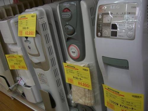 オイルヒーターの鶴ヶ島店最新入荷情報