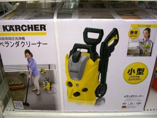 生活家電・家事家電の高圧洗浄機