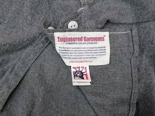 ENGINEERED GARMENTSの買取