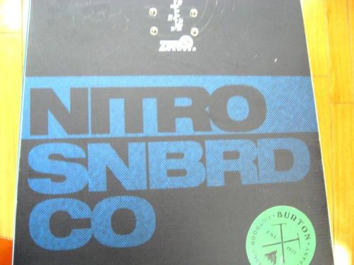 スノーボードのNITRO