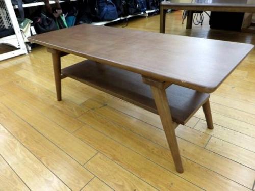 センターテーブルのニトリ