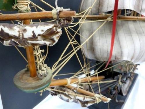 帆船の鶴ヶ島