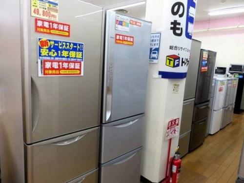 中古冷蔵庫の鶴ヶ島
