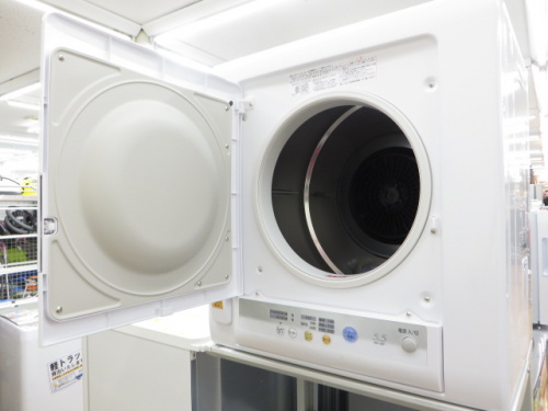 洗濯乾燥機の衣類乾燥機