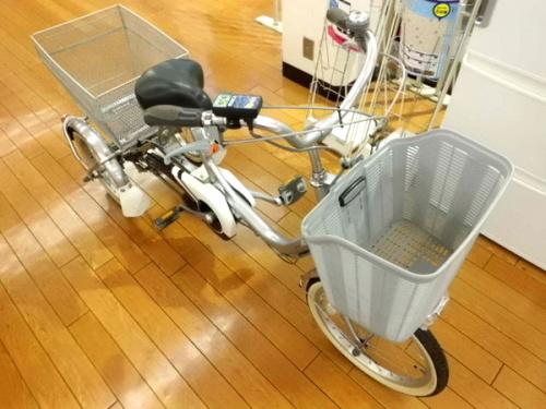 BRIDGESTONEの電動アシスト自転車
