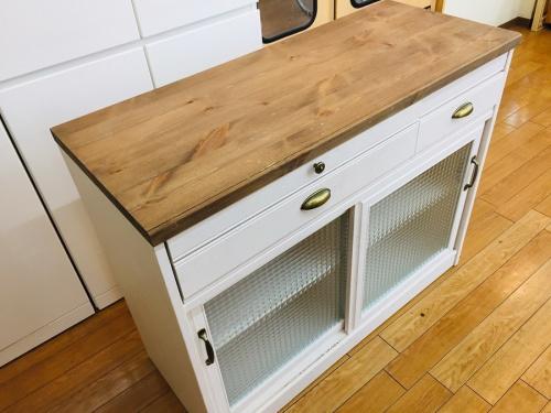 キッチンカウンターの鶴ヶ島家具
