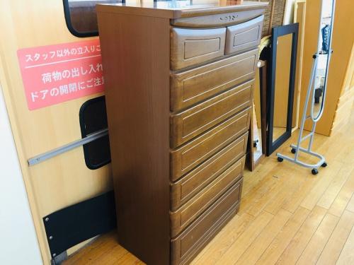 7段チェストの鶴ヶ島家具