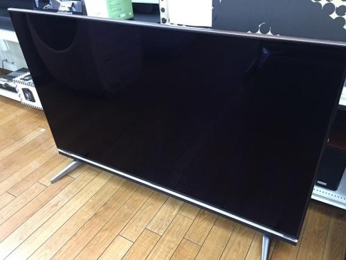 テレビの60インチ液晶テレビ