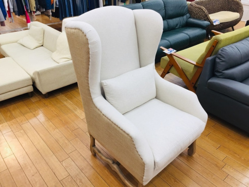Bedford wing chairの1人掛けソファー
