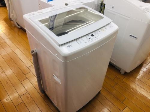 AQUAの全自動洗濯機