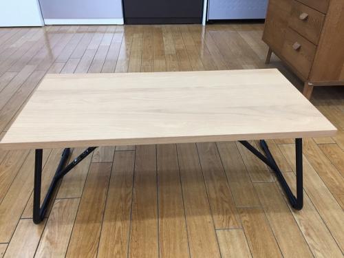 テーブルの折りたたみローテーブル