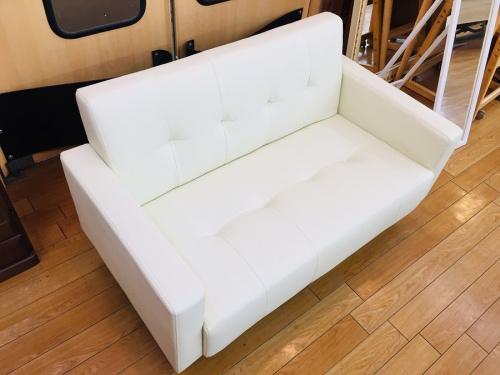 ソファのコンパクト2人掛けソファー