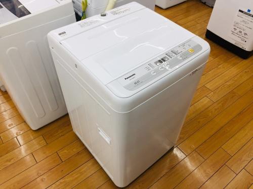 Panasonicの全自動洗濯機