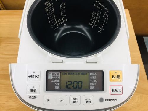 可変圧力IH炊飯ジャーの鶴ヶ島・坂戸中古家電